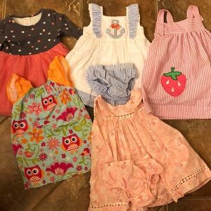 Other - Lot of toddler girls dresses 18-24 months